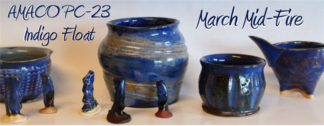 Mid-Fire Glaze of the Month - March 2013